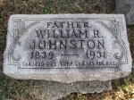 Grave: William R. Johnston